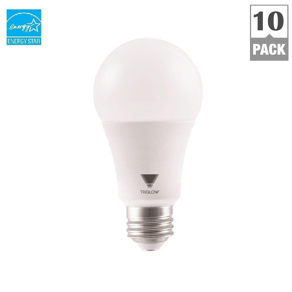 TriGlow 100 Watt Equivalent A19 Dimmable 1600 Lumen UL Listed and ...