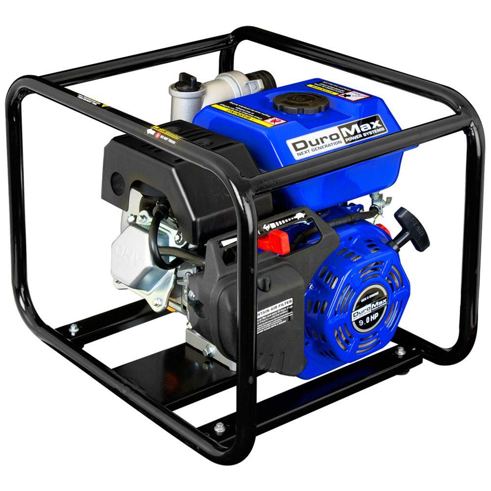 9 HP 4 in. Utility Gas Powered Water Pump