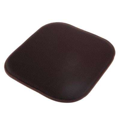 Brown Memory Foam Non-Slip Chair Pad