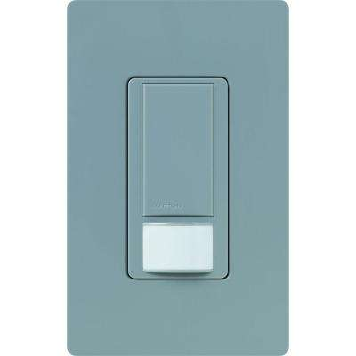 Maestro Dual Voltage Vacancy Sensor switch, 6-Amp, Single-Pole, Gray