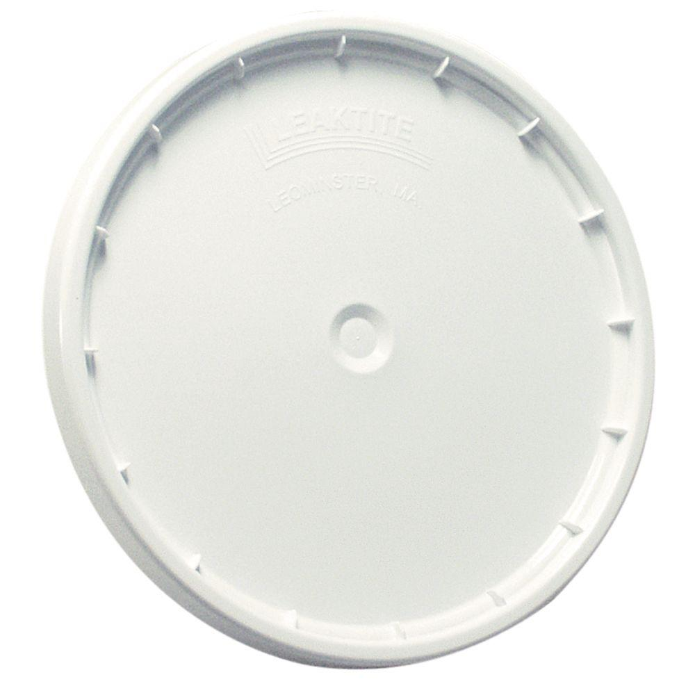 Leaktite White Reusable Easy Off Lid for 5-Gal. Pail (Pack of 3)