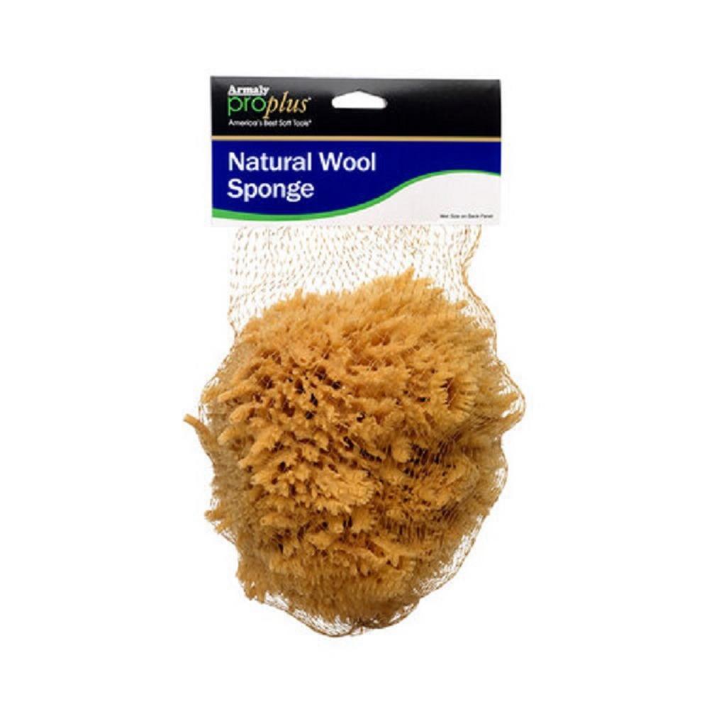 6 in. Natural Wool Sponge (Case of 6)