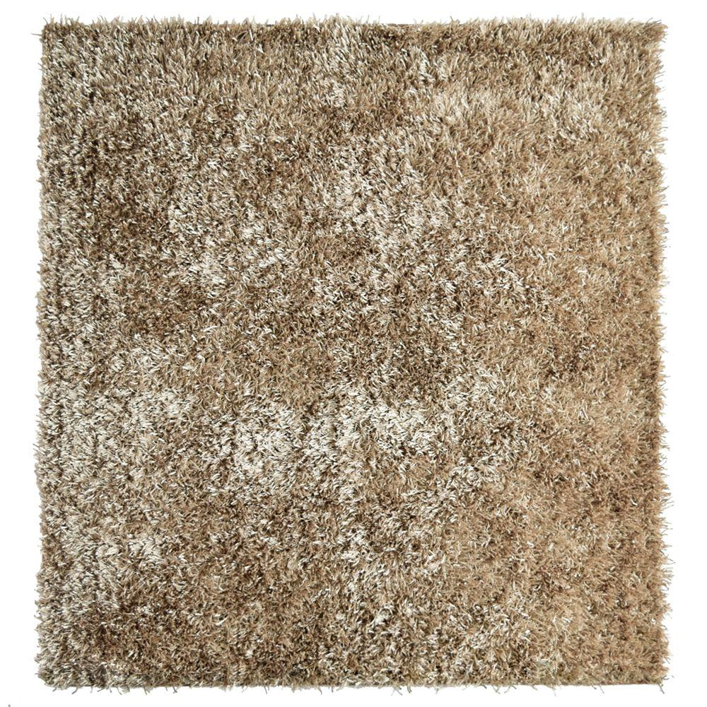 Home Decorators Collection City Sheen Gold 6 ft. x 6 ft. Square Area Rug