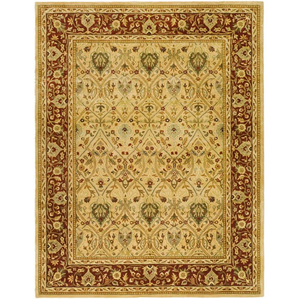 Persian Legend Ivory/Rust 5 ft. x 8 ft. Area Rug