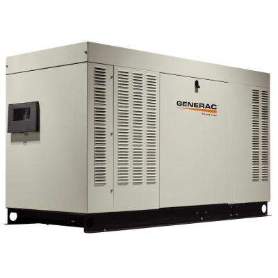 60,000-Watt 120-Volt/240-Volt Liquid Cooled Standby Generator 3-Phase with Aluminum Enclosure