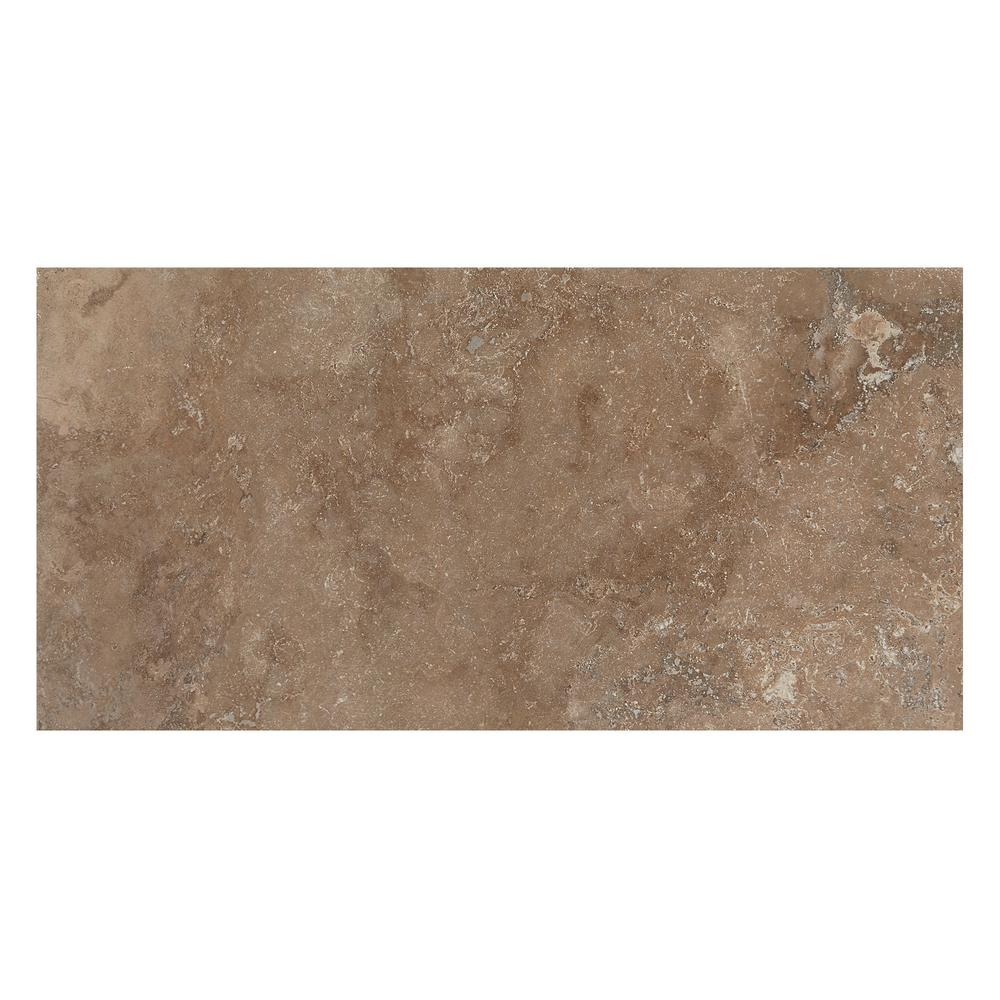 Travisano Venosa 12 in. x 24 in. Glazed Porcelain Floor and