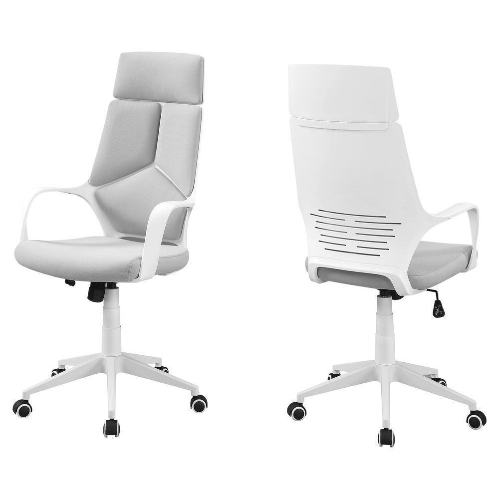 Jasmine 1-Piece White Office Chair