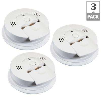 Intelligent Battery Operated Combination Smoke and CO Alarm Voice Warning (3-Pack per Case)