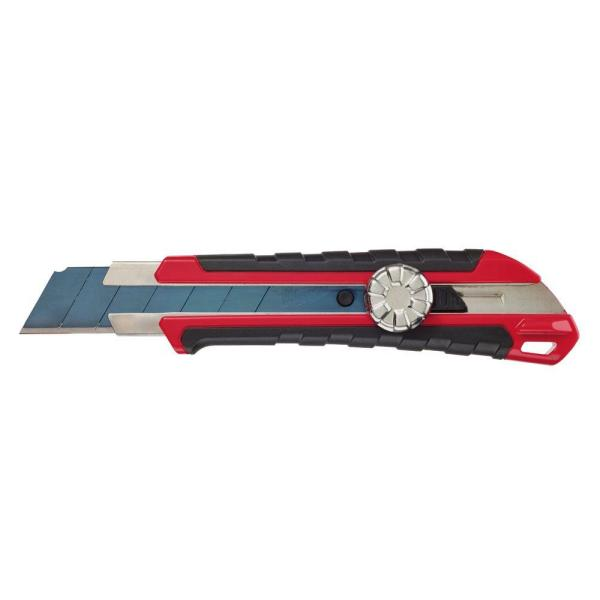 25 mm Snap Off Knife with Metal Lock and Precision Cut Blade