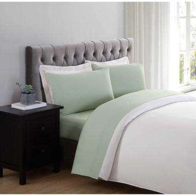 Everyday Sage Twin XL Sheet Set