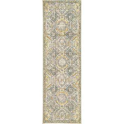 Vintage Minta Gold 2 ft. 8 in. x 8 ft. Runner Rug