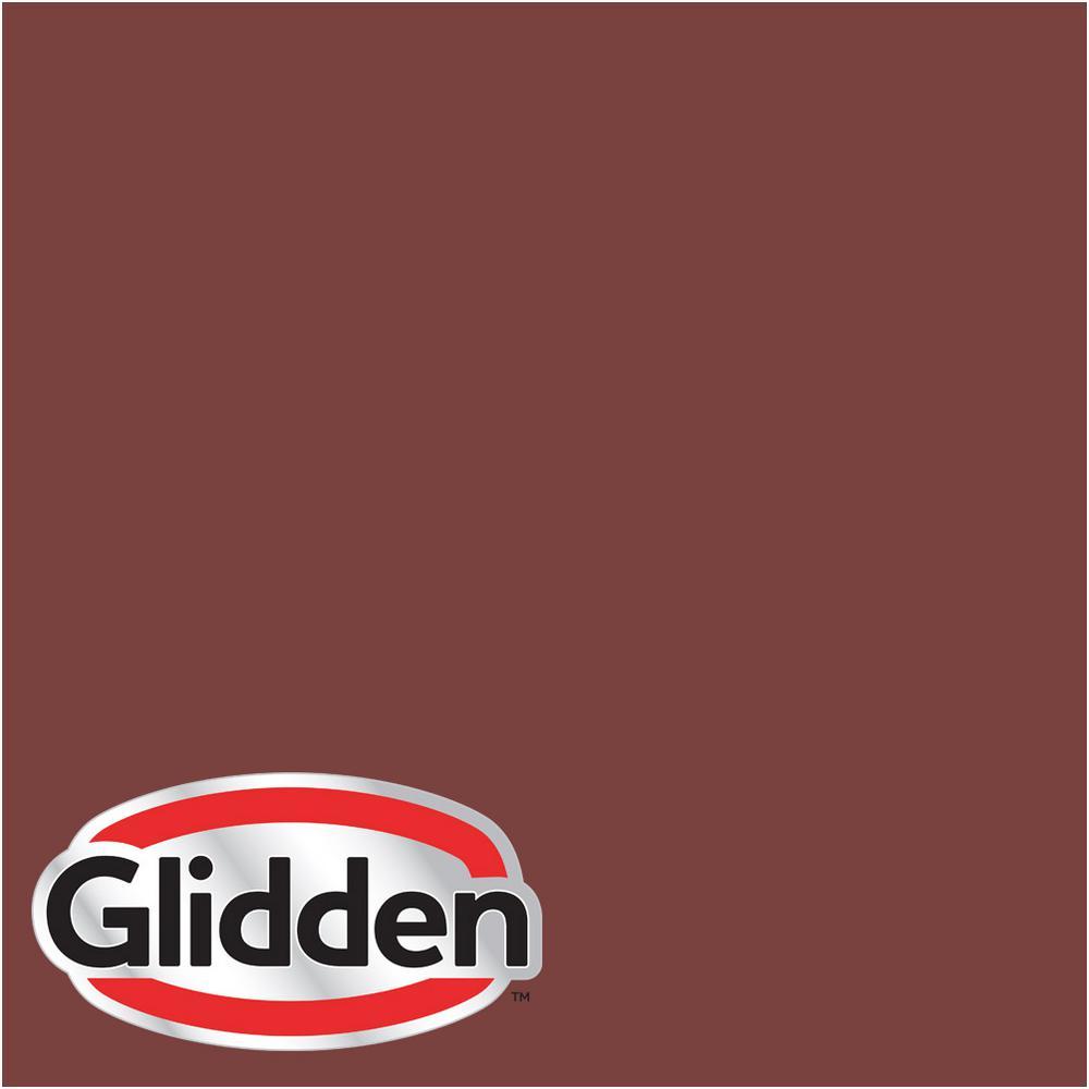 1-gal. #HDGR65 California Claret Flat Latex Exterior Paint