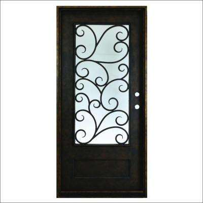 Iron Doors Front Doors The Home Depot - Home depot protection plan
