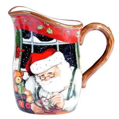 The Santa's Workshop Collection Pitcher