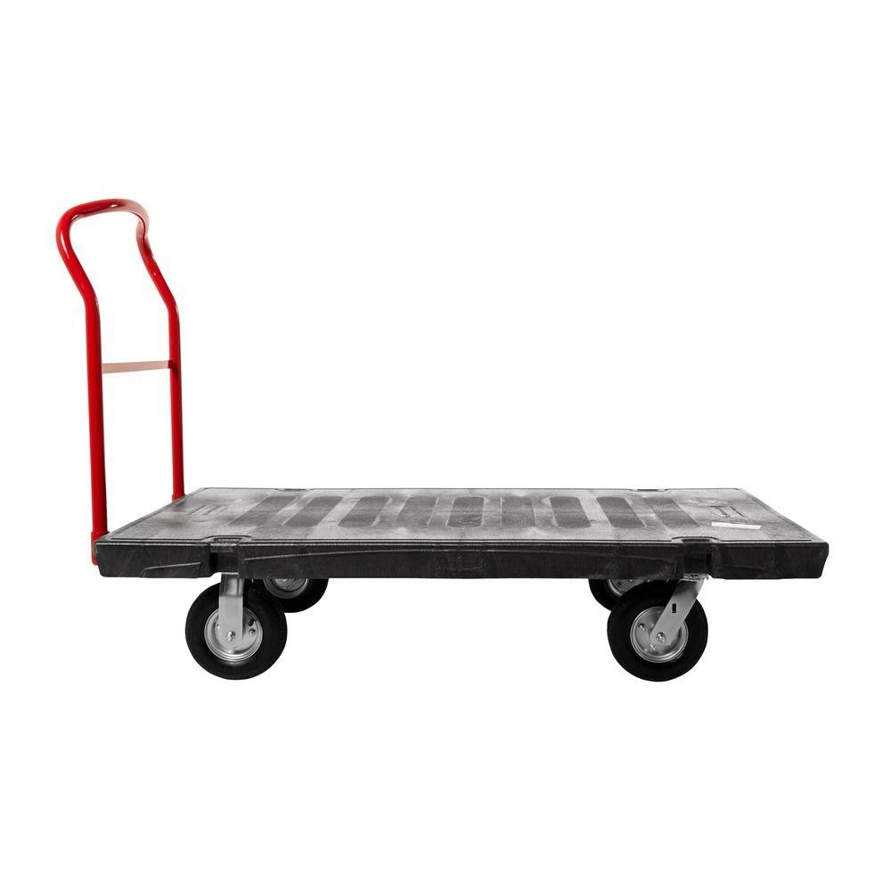 30 in. x 60 in. Platform Truck with 8 in. Polyolefin