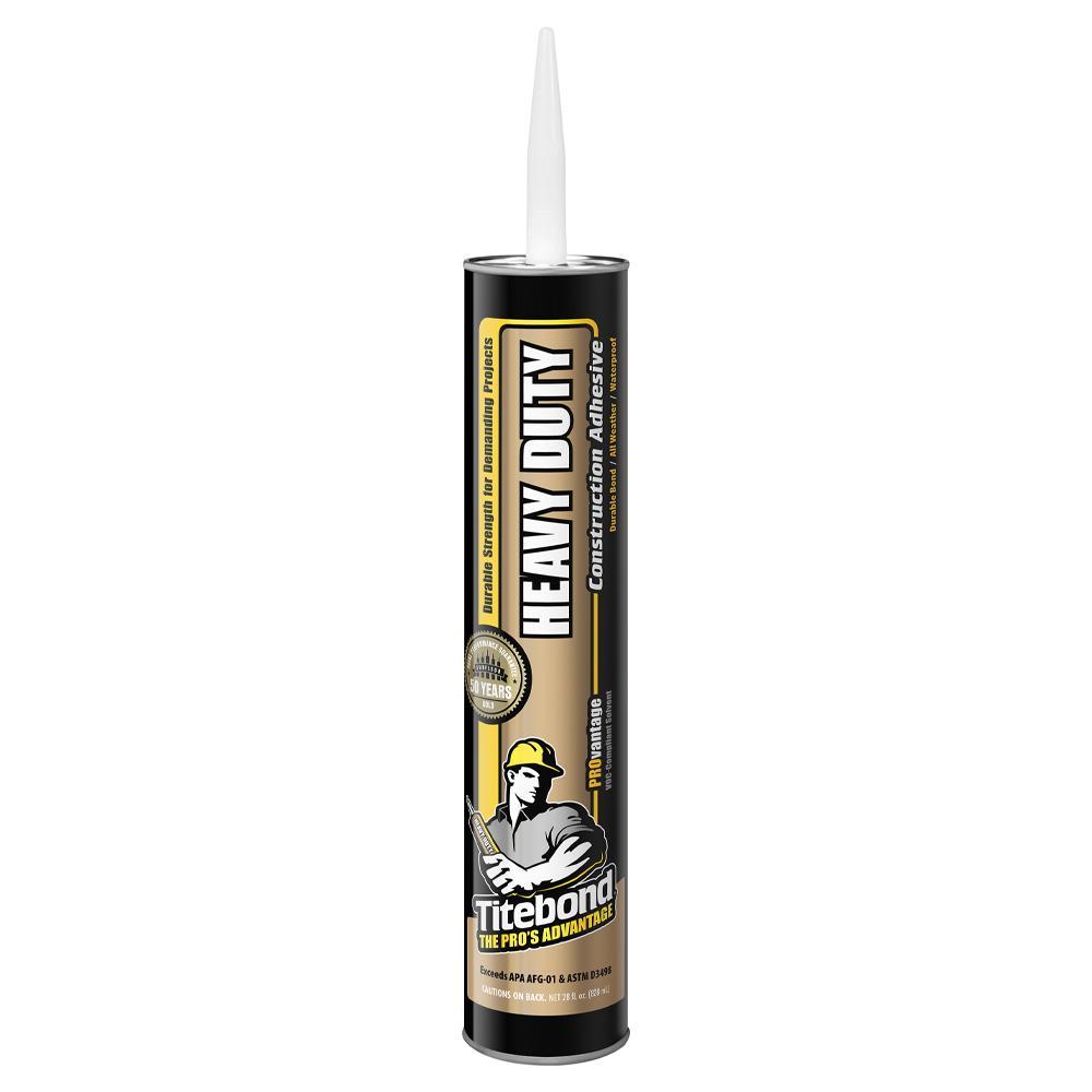 Titebond 28 oz. PROvantage Heavy Duty Construction Adhesive (12-Pack)