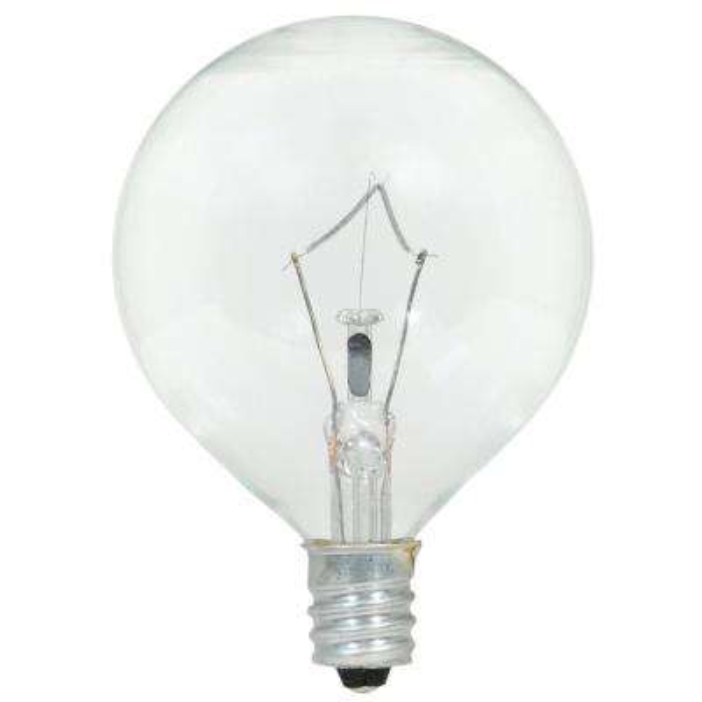 25-Watt Double Life G16.5 Incandescent Light Bulb (2-Pack)