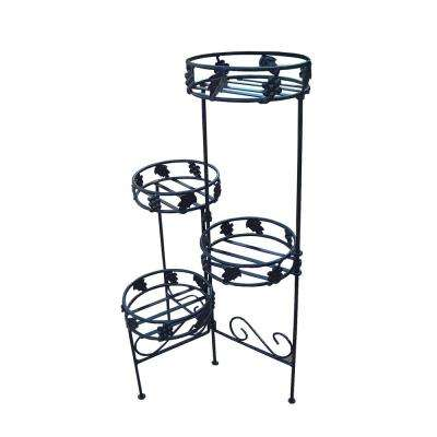 Foldable Plant Stand W-4 Pot Holders