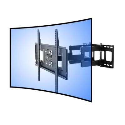 Curved Panel TV Wall Mount Bracket for 32 in. - 65 in. UHD OLED 4k Samsung LG Vizio TVs