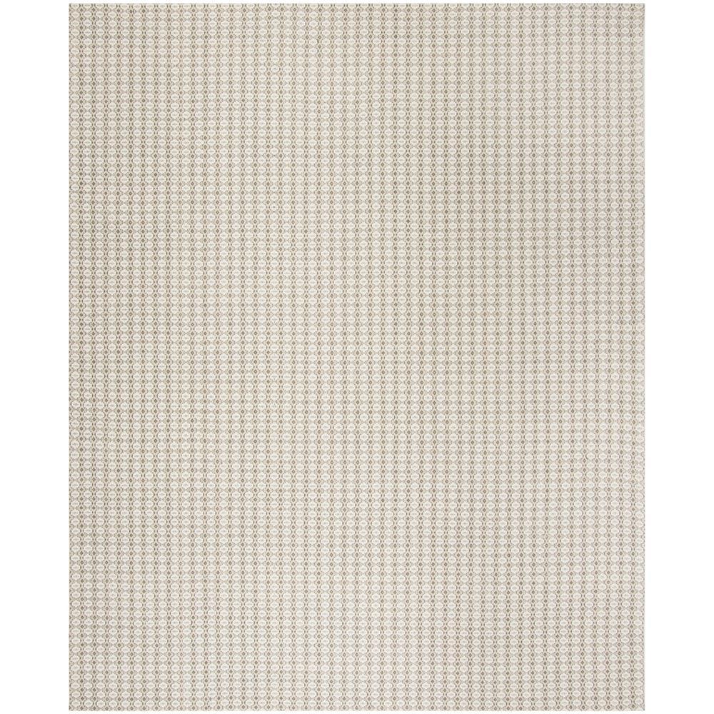 Wilton Gray/Ivory 8 ft. x 10 ft. Area Rug