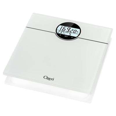 WeightMaster (400 lbs./180 kg) Bath Scale with BMI, BMR and 50 g Weight Change Detection