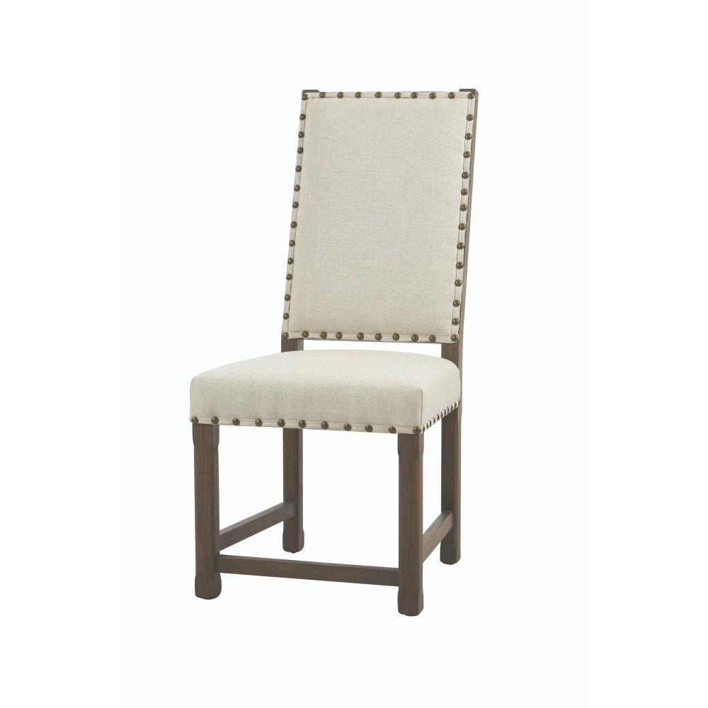 Home Decorators Collection Andrew Beige Dining Chair Set Of 2