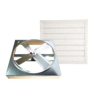 30 in. Direct Drive Whole House Fan with Shutter