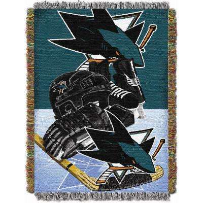Sharks Multi Color HIA Tapestry Throw