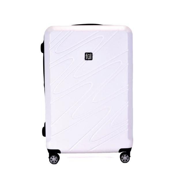 Ful Scribble 29 in. Expandable Spinner Rolling Luggage Suitcase ABFL5643-100