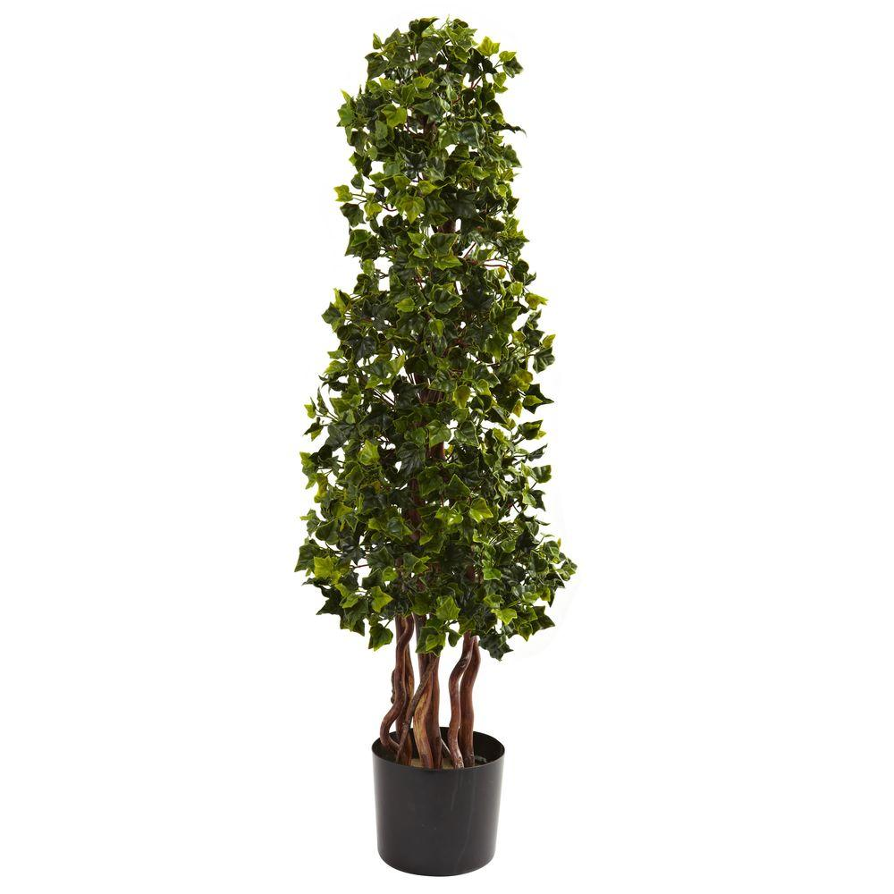 3.5 ft. UV Resistant Indoor/Outdoor English Ivy Spiral