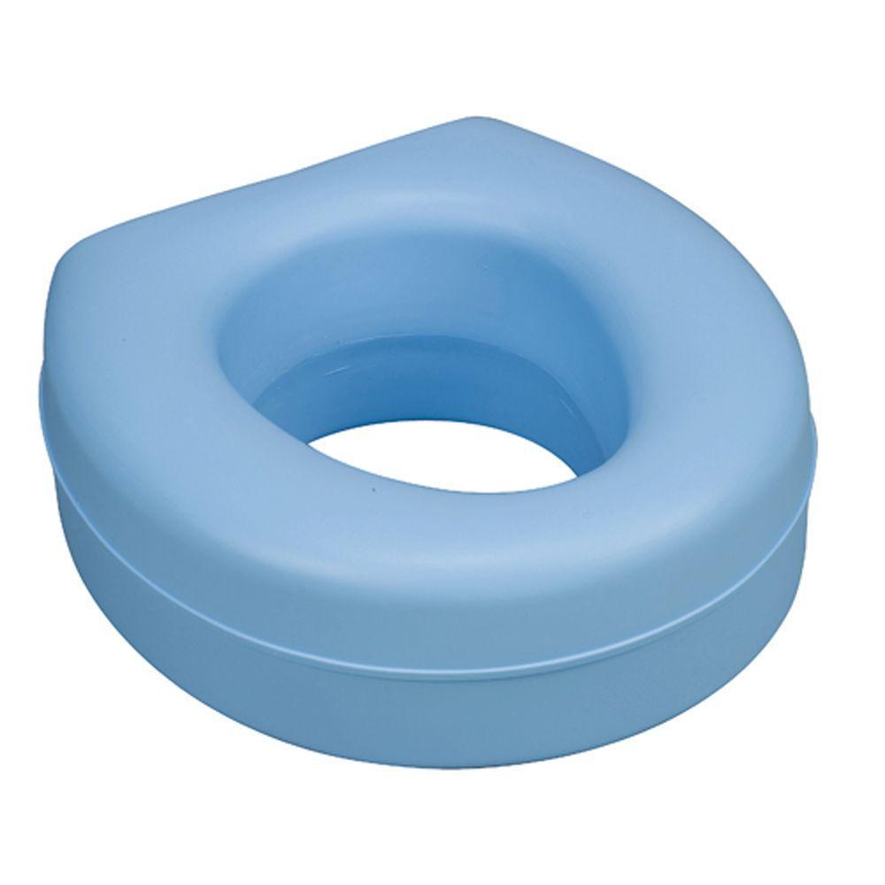 Raised Toilet Seat in Blue