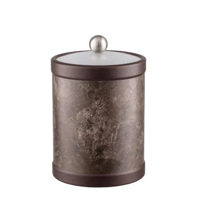 Quarry Tunisia Stone 2 Qt. Tall Ice Bucket with Bale handle and Acrylic Lid