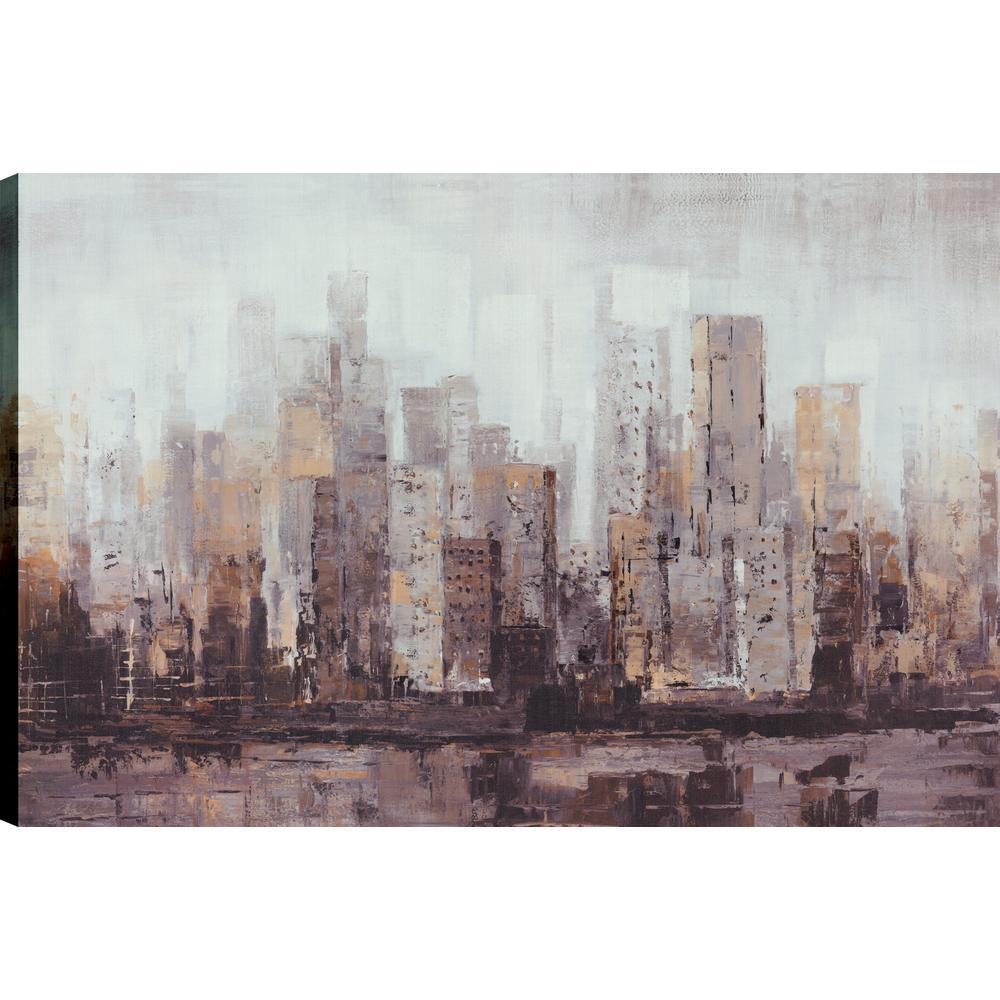 Landscape Dust III, Landscape Art, Canvas Print Wall Art Dcor 24X36 Ready to hang by ArtMaison.ca