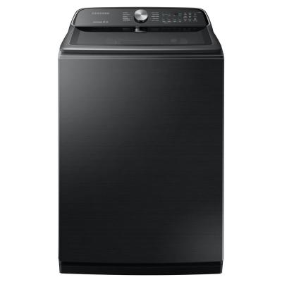 5.4 cu. ft. Fingerprint Resistant Black Stainless Top Load Washing Machine with Active WaterJet, ENERGY STAR