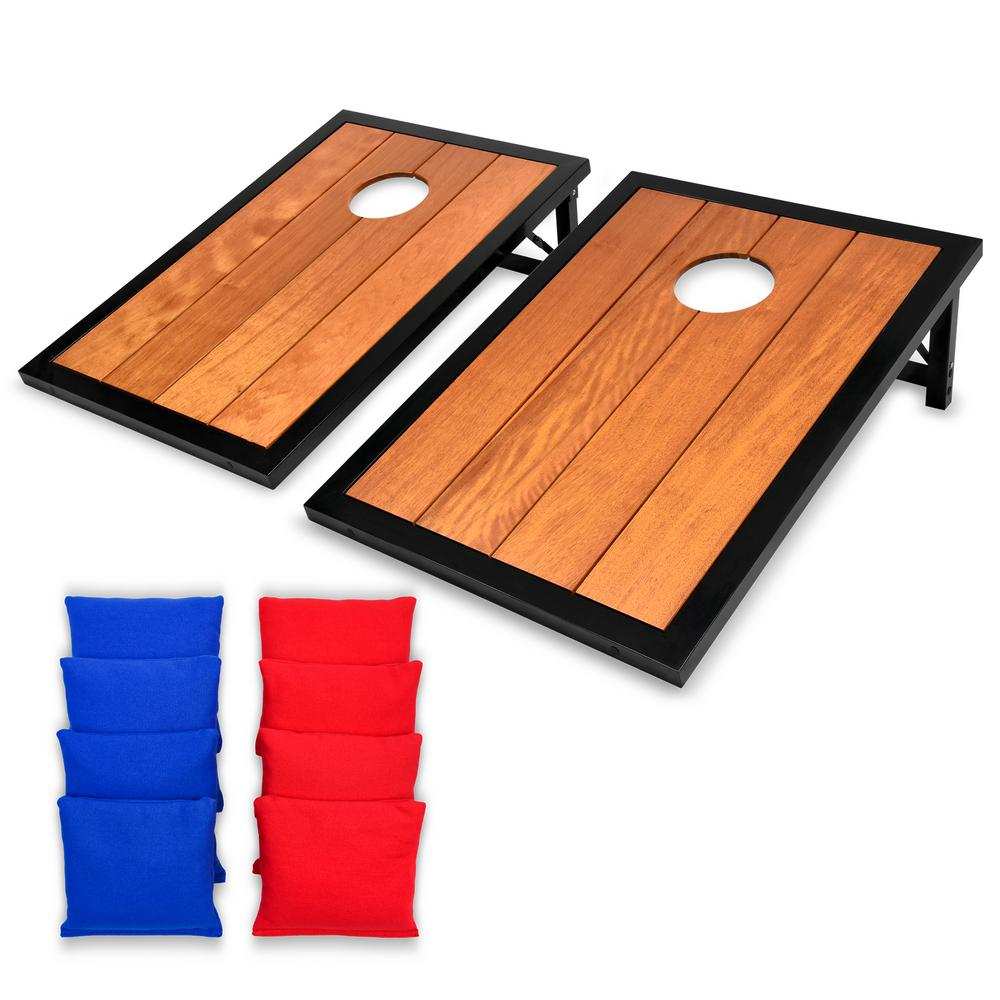 Gosports 3 Ft X 2 Premium All Weather Hardwood Set With