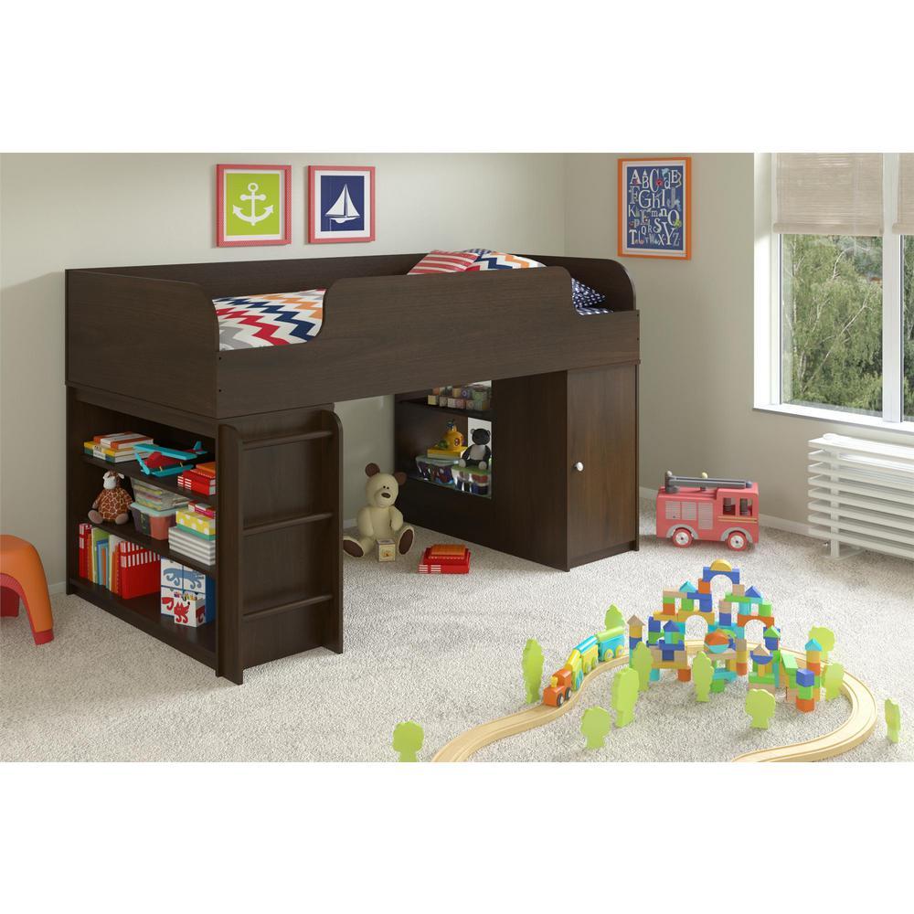 Elements 1-Piece Resort Cherry Twin Kids Bedroom Set