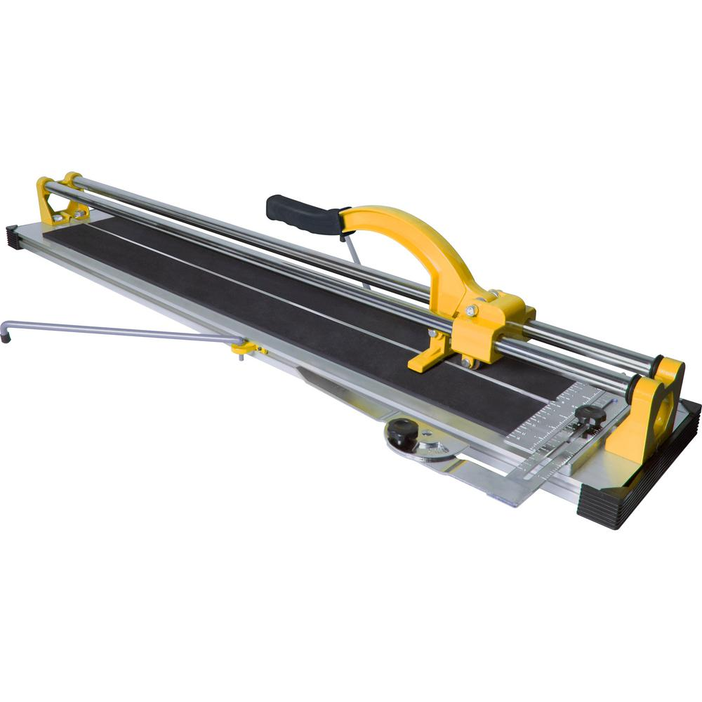 Qep 35 In Rip And 24 In Diagonal Porcelain And Ceramic Tile Cutter 10900q The Home Depot