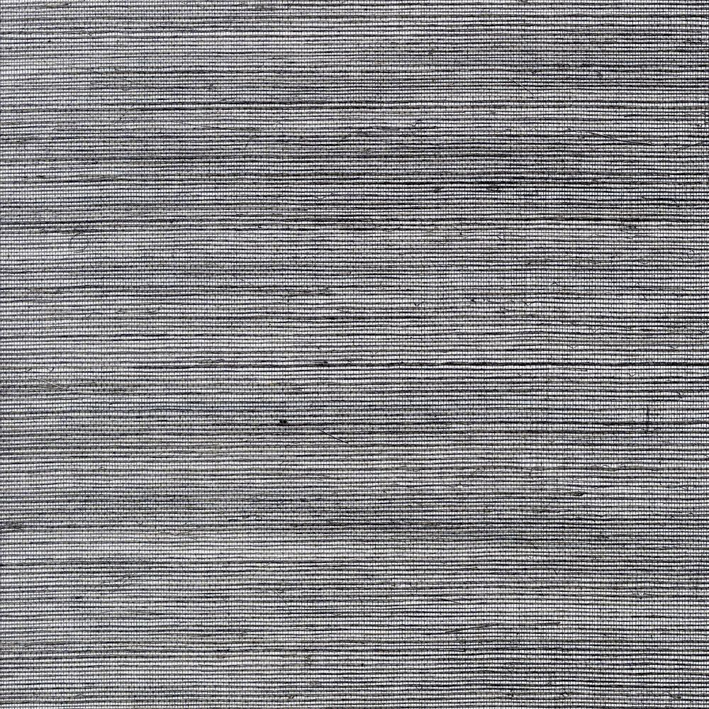 The Wallpaper Company 72 sq. ft. Silver Sisal Wallpaper