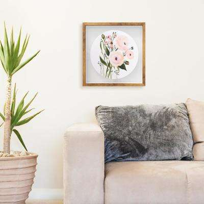 16 in. H x 16 in. W 'My Blush Garden' by Wynwood Studio Printed Framed Wall Art