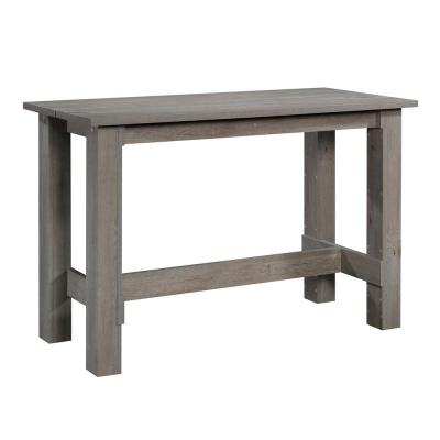 Boone Mountain Mystic Oak Engineered Wood Counter Height Dining Table