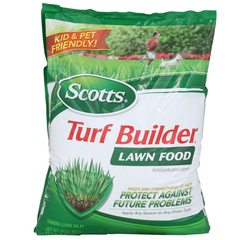 Scotts 12.6 lb. 5,000 sq. ft. Turf Builder Lawn Food