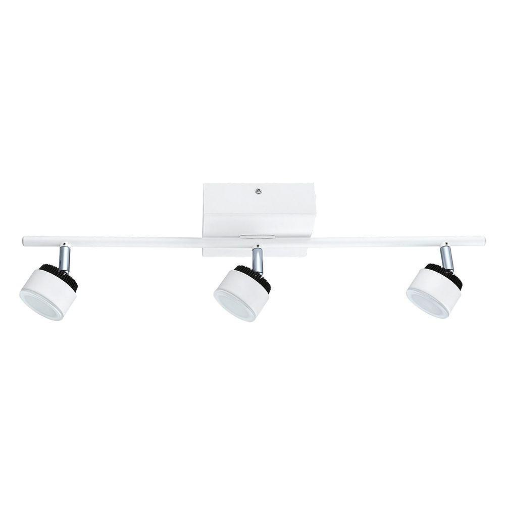 Armento 3-Light White LED Track Light
