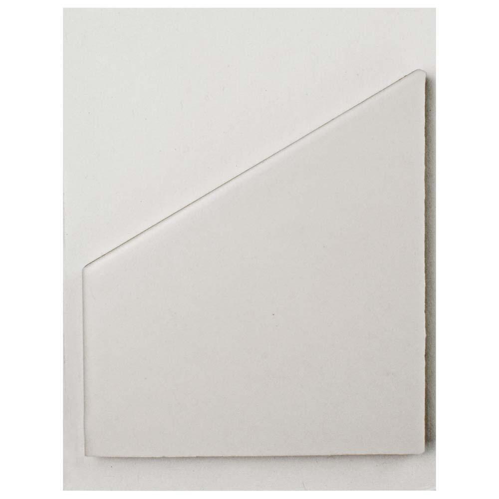 Merola Tile Hexatile Matte Blanco Porcelain Floor and Wall Tile - 3 ...