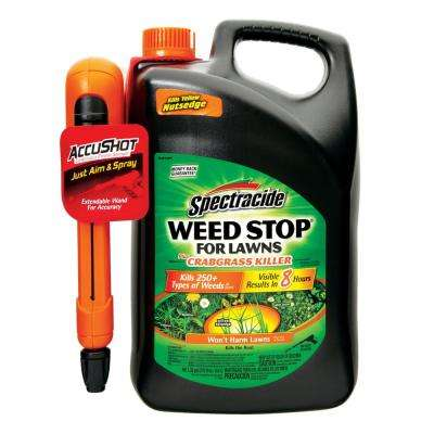 Weed Stop 1.3 gal. Ready-to-Use Accushot with Crabgrass Killer