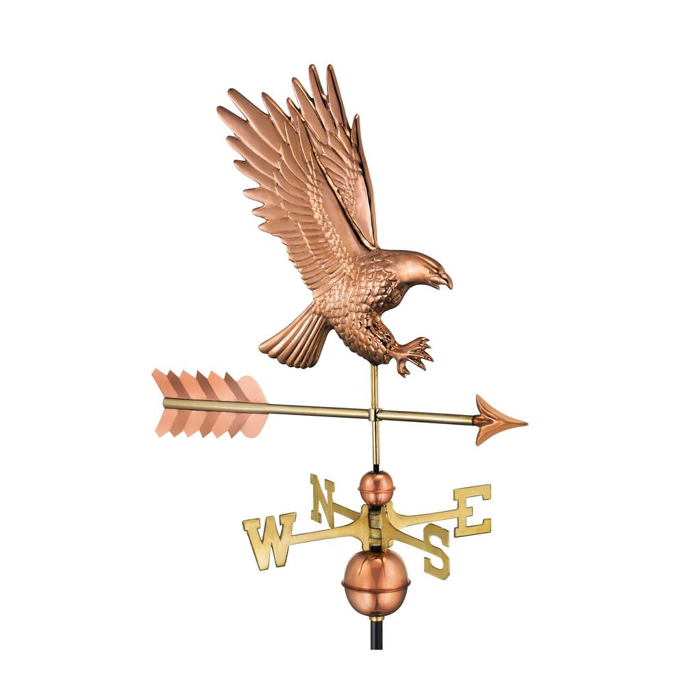 American Bald Eagle Weathervane - Pure Copper