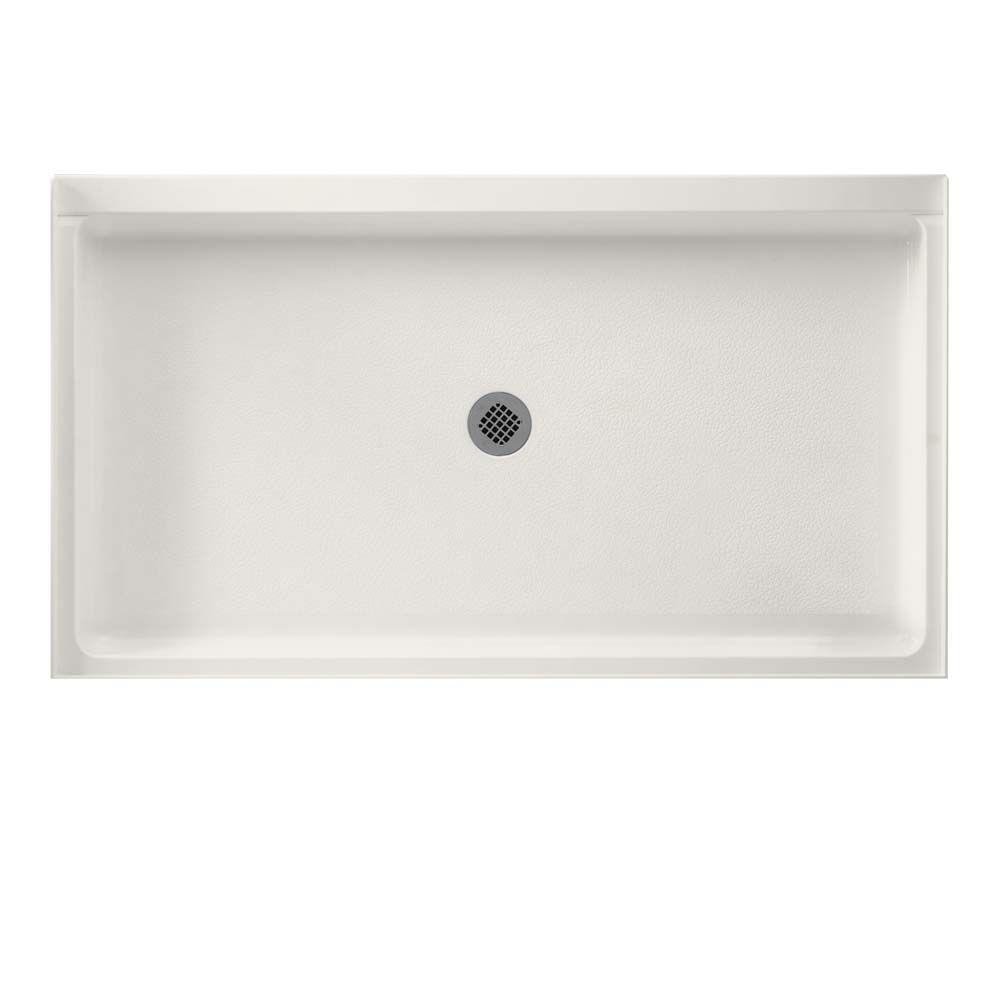 Swan 34 In. X 60 In. Solid Surface Single Threshold Cente.