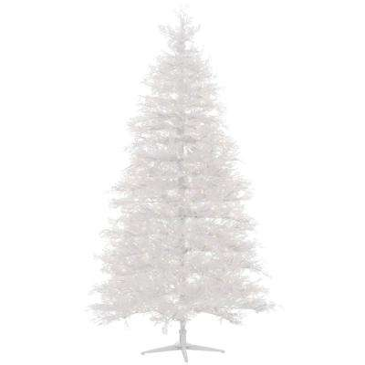 7.5 ft. Pre-Lit LED Winter Crest Artificial Christmas Tree with 600 Warm White Micro-Dot Lights