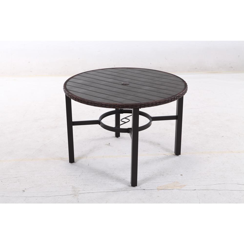 Harper Creek Metal Outdoor Dining Table