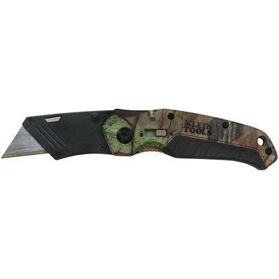 6 in. Camo Assisted Open Folding Utility Knife
