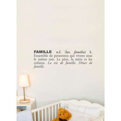 (31 in x 10 in) Famille (french) Wallpaper